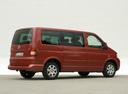 Фото авто Volkswagen Multivan T5, ракурс: 225 цвет: красный