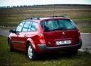 Фото авто Renault Megane 2 поколение, ракурс: 135 цвет: красный