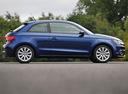 Фото авто Audi A1 8X, ракурс: 270 цвет: синий