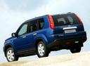 Фото авто Nissan X-Trail T31, ракурс: 135 цвет: синий