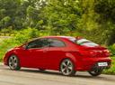 Фото авто Kia Cerato 3 поколение, ракурс: 135 цвет: красный