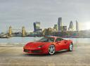 Фото авто Ferrari 488 1 поколение, ракурс: 45 цвет: оранжевый