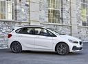 Фото авто BMW 2 серия Active Tourer F45 [рестайлинг], ракурс: 270 цвет: белый