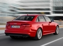 Фото авто Audi S4 B8/8K [рестайлинг], ракурс: 225 цвет: красный