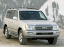 Фото авто Toyota Land Cruiser J100 [2-й рестайлинг], ракурс: 315