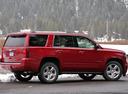Фото авто Chevrolet Tahoe 4 поколение, ракурс: 225 цвет: красный