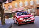 Фото авто Skoda Fabia 6Y, ракурс: 90 цвет: красный