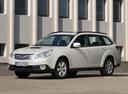 Фото авто Subaru Outback 4 поколение, ракурс: 45 цвет: белый