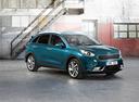 Фото авто Kia Niro DE, ракурс: 315 цвет: бирюзовый