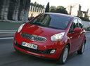 Фото авто Kia Venga 1 поколение, ракурс: 45 цвет: красный