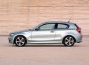 Фото авто BMW 1 серия E81/E82/E87/E88 [рестайлинг], ракурс: 90 цвет: серебряный