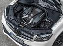 Фото авто Mercedes-Benz GLS-Класс X166, ракурс: двигатель цвет: белый