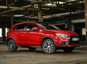 Фото авто Mitsubishi ASX 1 поколение [2-й рестайлинг], ракурс: 315 цвет: красный