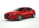 Фото авто Mazda 3 BM, ракурс: 45 цвет: красный