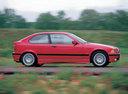Фото авто BMW 3 серия E36, ракурс: 270 цвет: красный