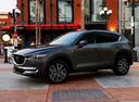 Фото авто Mazda CX-5 2 поколение, ракурс: 45 цвет: серый