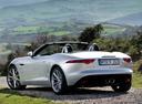 Фото авто Jaguar F-Type 1 поколение, ракурс: 135 цвет: серебряный