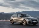 Фото авто Audi A1 2 поколение, ракурс: 315 цвет: серый