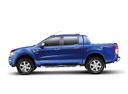 Фото авто Ford Ranger 4 поколение, ракурс: 90 цвет: синий