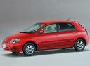 Фото авто Toyota Allex E120, ракурс: 90