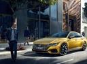 Фото авто Volkswagen Arteon 1 поколение, ракурс: 45 цвет: желтый