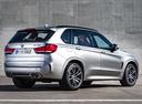 Фото авто BMW X5 M F85, ракурс: 225 цвет: серебряный