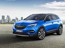 Фото авто Opel Grandland X 1 поколение, ракурс: 45 цвет: синий