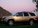 Фото авто Chevrolet Tahoe GMT900, ракурс: 90 цвет: серый