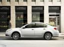 Фото авто Subaru Legacy 5 поколение [рестайлинг], ракурс: 90 цвет: белый