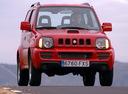 Фото авто Suzuki Jimny 3 поколение [рестайлинг],  цвет: красный
