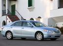 Фото авто Toyota Camry XV40, ракурс: 315 цвет: голубой