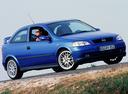 Фото авто Opel Astra G, ракурс: 315 цвет: синий