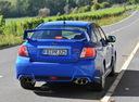 Фото авто Subaru Impreza 3 поколение [рестайлинг], ракурс: 180 цвет: синий