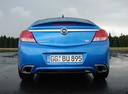 Фото авто Opel Insignia A, ракурс: 180 цвет: голубой