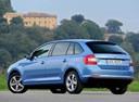 Фото авто Skoda Rapid 3 поколение, ракурс: 135 цвет: синий