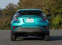 Фото авто Toyota C-HR 1 поколение, ракурс: 180 цвет: бирюзовый