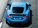 Фото авто Jaguar XK X150 [2-й рестайлинг], ракурс: 180 цвет: синий
