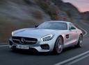 Фото авто Mercedes-Benz AMG GT C190, ракурс: 45 цвет: серый