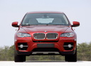 Фото авто BMW X6 E71/E72,  цвет: красный