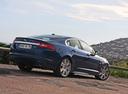 Фото авто Jaguar XF X250, ракурс: 225 цвет: синий