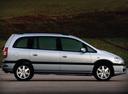 Фото авто Chevrolet Zafira 1 поколение [рестайлинг], ракурс: 270