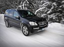 Фото авто Mercedes-Benz GL-Класс X164 [рестайлинг], ракурс: 315 цвет: синий