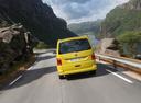 Фото авто Volkswagen California T6, ракурс: 180 цвет: желтый