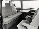 Фото авто Volkswagen Transporter T4, ракурс: задние сиденья