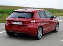 Фото авто Peugeot 308 T9, ракурс: 225 цвет: красный