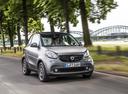Фото авто Smart Fortwo 3 поколение, ракурс: 315 цвет: серый