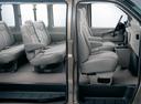 Фото авто Chevrolet Express 1 поколение [рестайлинг], ракурс: сиденье