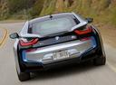 Фото авто BMW i8 I12, ракурс: 180 цвет: серебряный
