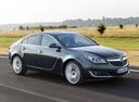 Фото авто Opel Insignia A [рестайлинг], ракурс: 315 цвет: зеленый