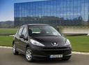 Фото авто Peugeot 207 1 поколение, ракурс: 315 цвет: черный